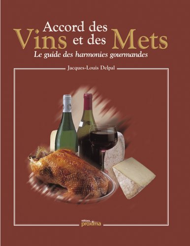 9782844166135: accords des mets et des vins