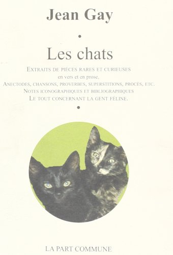 9782844181312: Proverbe des chats