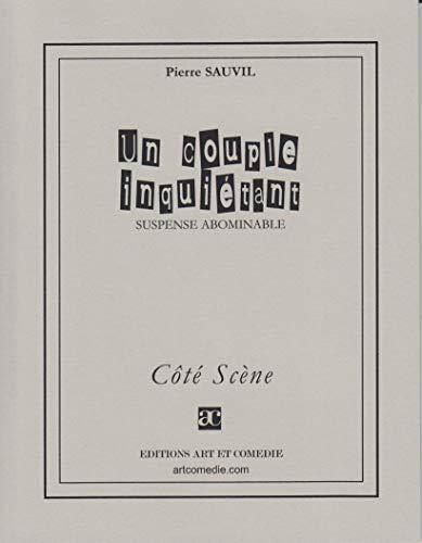 9782844224514: Un Couple Inquietant