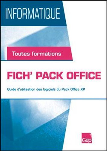 9782844257437: Fich'Pack Office - Eleve