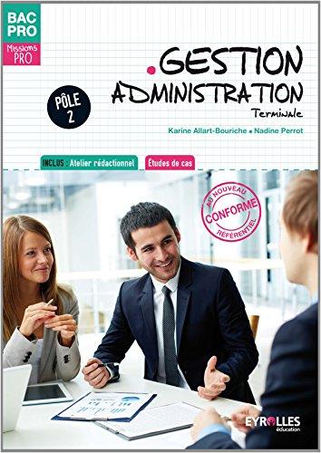 9782844259691: Gestion Administration : Terminale, Pôle 2