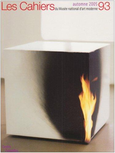 CAHIERS DU MUSÉE NATIONAL D'ART MODERNE NO93: CRIQUI JEAN-PIERRE