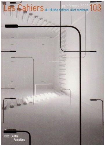 CAHIERS DU MUSÉE NATIONAL D'ART MODERNE NO103: COLLECTIF