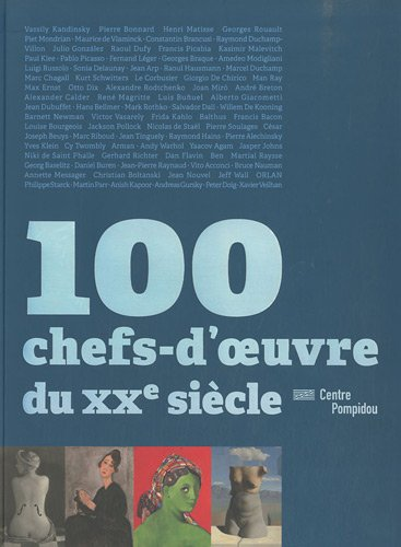 9782844264640: 100 chefs-d'oeuvre du XXe siècle (French Edition)