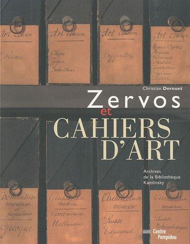 9782844264831: Zervos - Cahiers D'Art