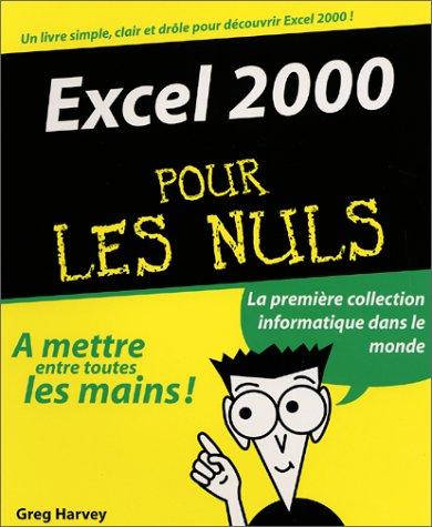 9782844272379: Excel 2000 pour les nuls