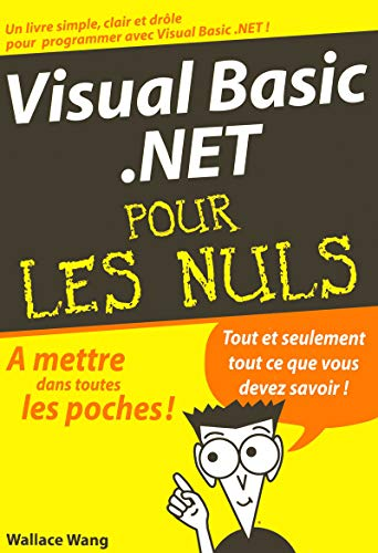 Visual basic.net pour les nuls (9782844273369) by Wallace Wang