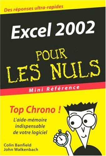 Excel 2002: Banfield, Colin, Walkenbach, John