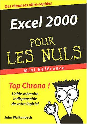 Excel 2000: n/a