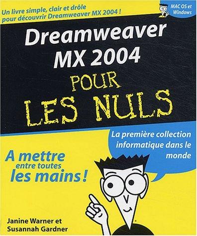 Dreamweaver MX 2004 pour les nuls: n/a