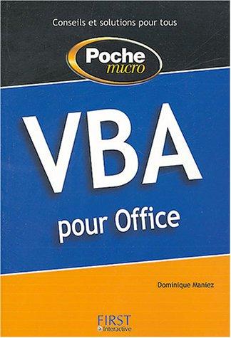 9782844276063: Poche Micro VBA