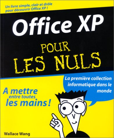 Office XP pour les nuls (9782844279675) by Wallace Wang