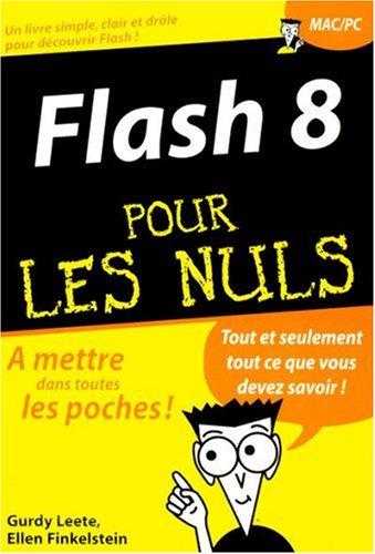 9782844279941: Flash 8 Pour les Nuls