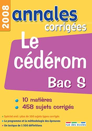 9782844315373: Annales corrigées Bac S : CD-ROM