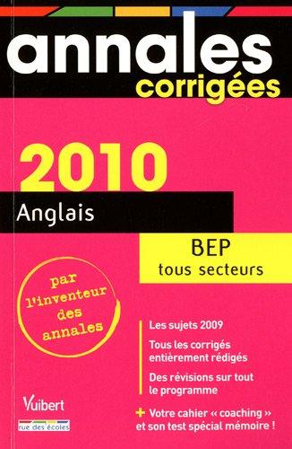 Anglais BEP Tous secteurs: Jean-Paul Pouderon