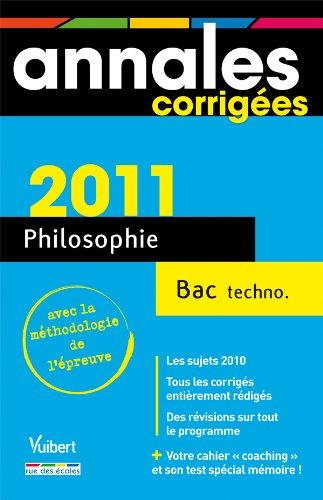 9782844318787: Philosophie Bac technologiques