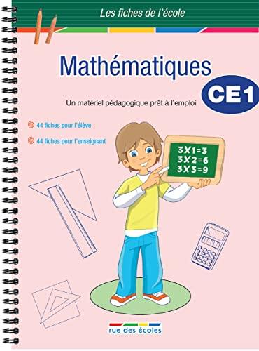 9782844319487: Mathématiques CE1 : Un matériel pédagogique prêt à l'emploi