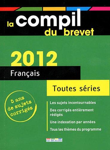 9782844319821: français (édition 2012)