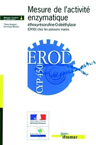 9782844331366: Mesure de l'activité enzymatique éthoxyrésorufine-O-dééthylase (EROD) chez les poissons marins