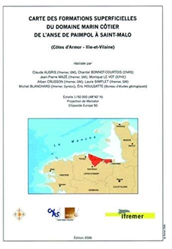 Carte des formations superficielles du domaine marin: Claude Augris; Chantal