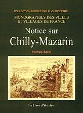 9782844350510: Chilly-Mazarin (Notice Sur)