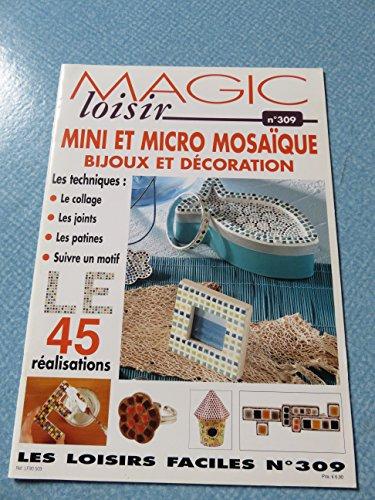 9782844398949: N 309 - Mini et Micro Mosa�que Bijoux et D�coration