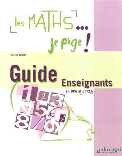 9782844444509: Les maths ... je pige !