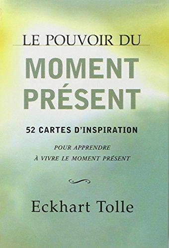 LE POUVOIR DU MOMENT PRESENT ; COFFRET: TOLLE, ECKHART