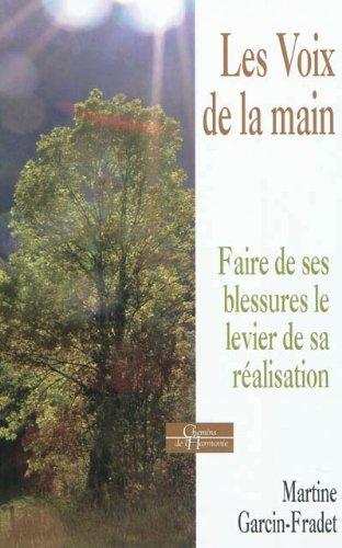 VOIX DE LA MAIN (LES): GARCIN-FRADET MARTINE