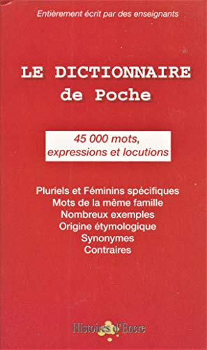 9782844700650: le dictionnaire français de poche (45000 mots)