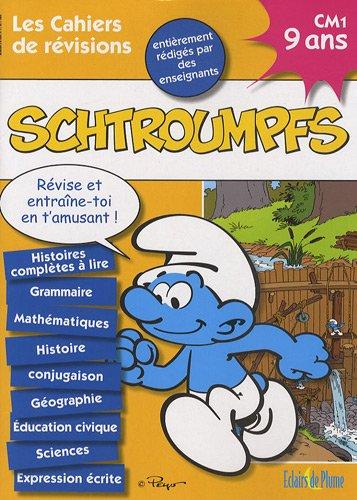 9782844701886: Les cahiers de r�visions Schtroumpfs CM1 : 9 ans