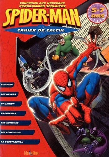 9782844702074: Calcul Spider-Man 5 Ans