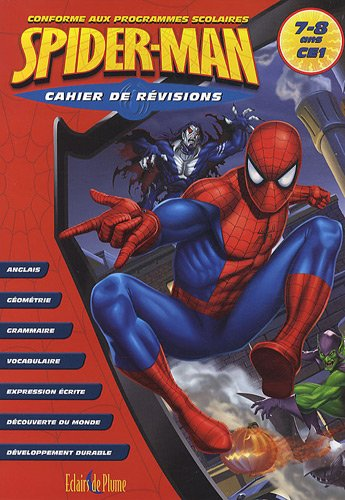 9782844702142: Cahier de révisions Spider-Man CE1 (French Edition)