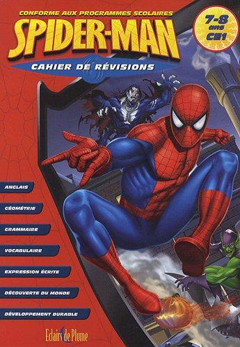9782844702142: Cahier de Révision Spiderman CE1