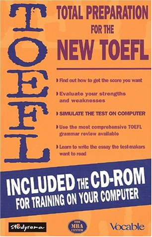 9782844722355: Total preparation for the new TOEFL. With CD-ROM