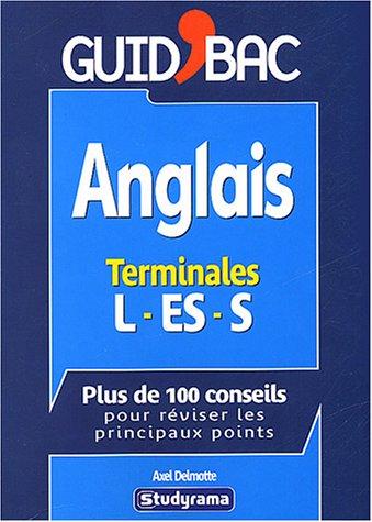 9782844723567: Anglais terminales L, ES, S