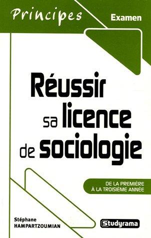 9782844726025: R�ussir sa licence de sociologie