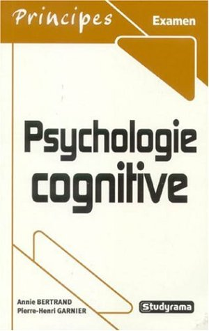 9782844726544: Psychologie cognitive