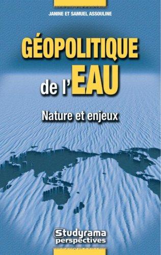 9782844729002: La géopolitique de l'eau