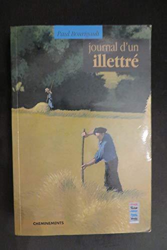 9782844781529: Journal d'un Illettre (French Edition)