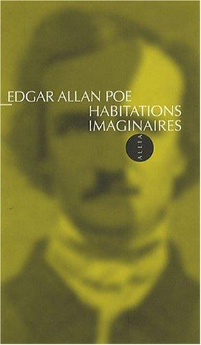9782844852663: Habitations imaginaires