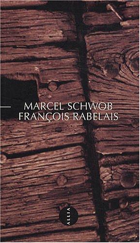 9782844852908: François Rabelais