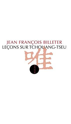 9782844857934: Leçons sur Tchouang-Tseu