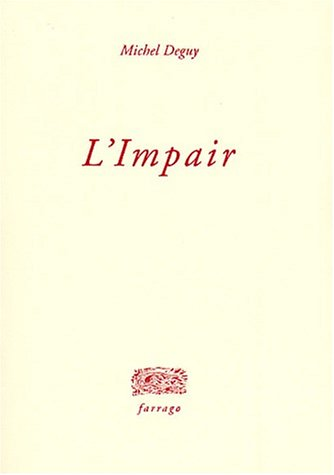 9782844900166: L'impair (French Edition)