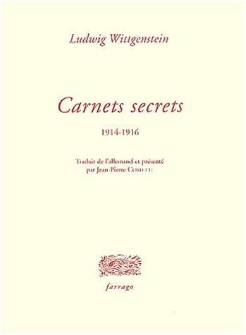 9782844900616: Carnets secrets
