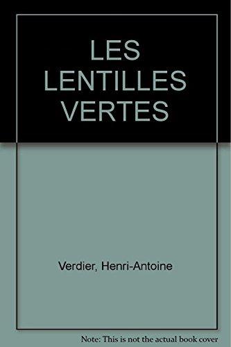 9782844940117: LES LENTILLES VERTES