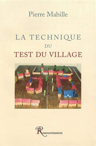 9782845051201: La Technique du Test de Village