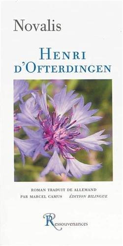 9782845051454: Henri d'Ofterdingen