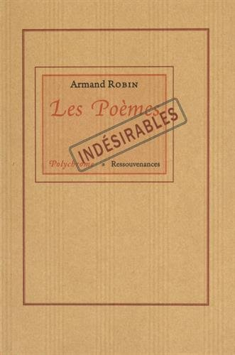 9782845051645: Les po�mes ind�sirables