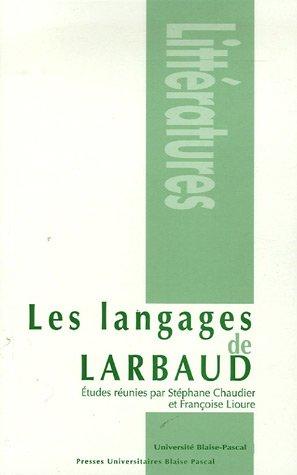 9782845163010: Les langages de Larbaud